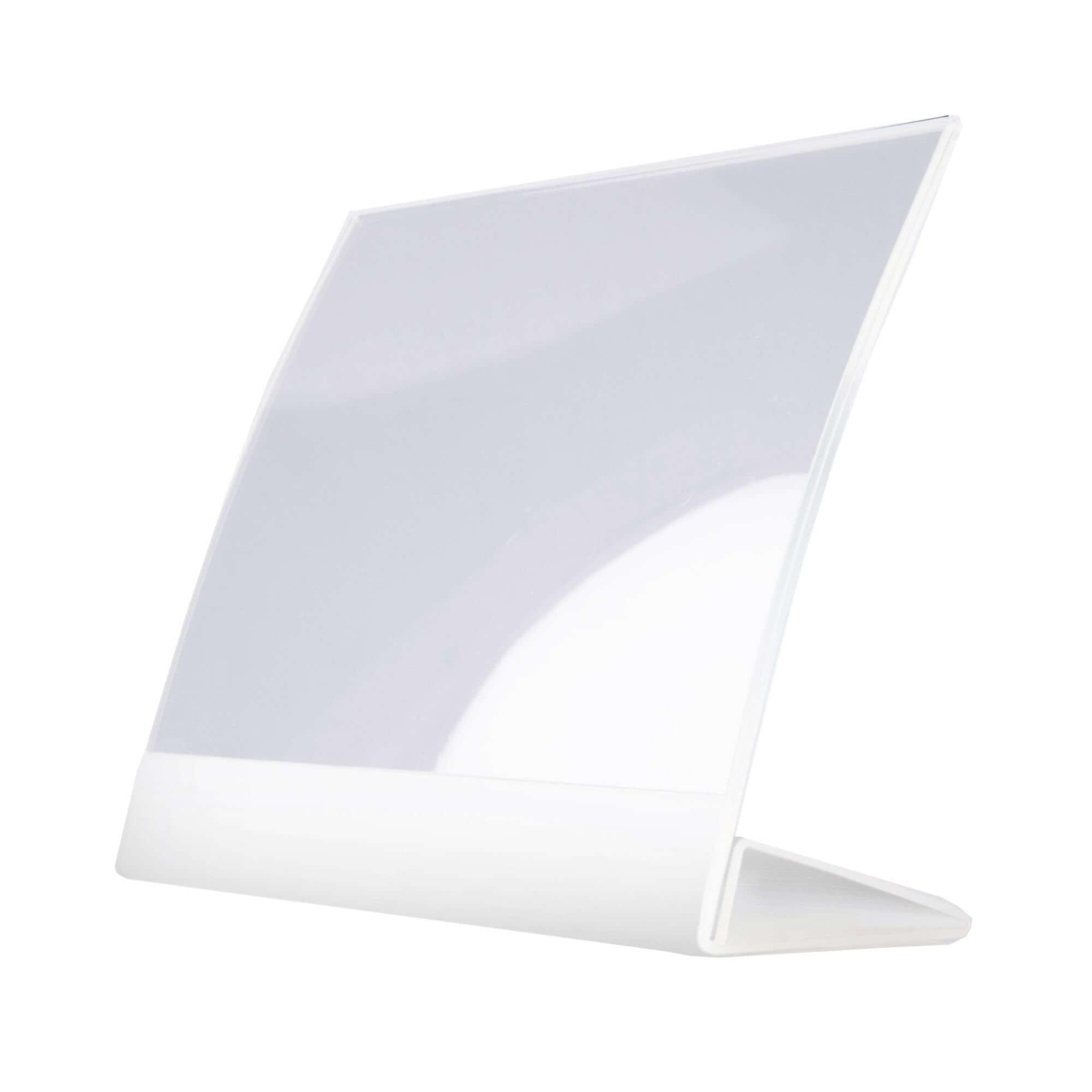 hochwertiger Prospektsteller aus Acrylglas