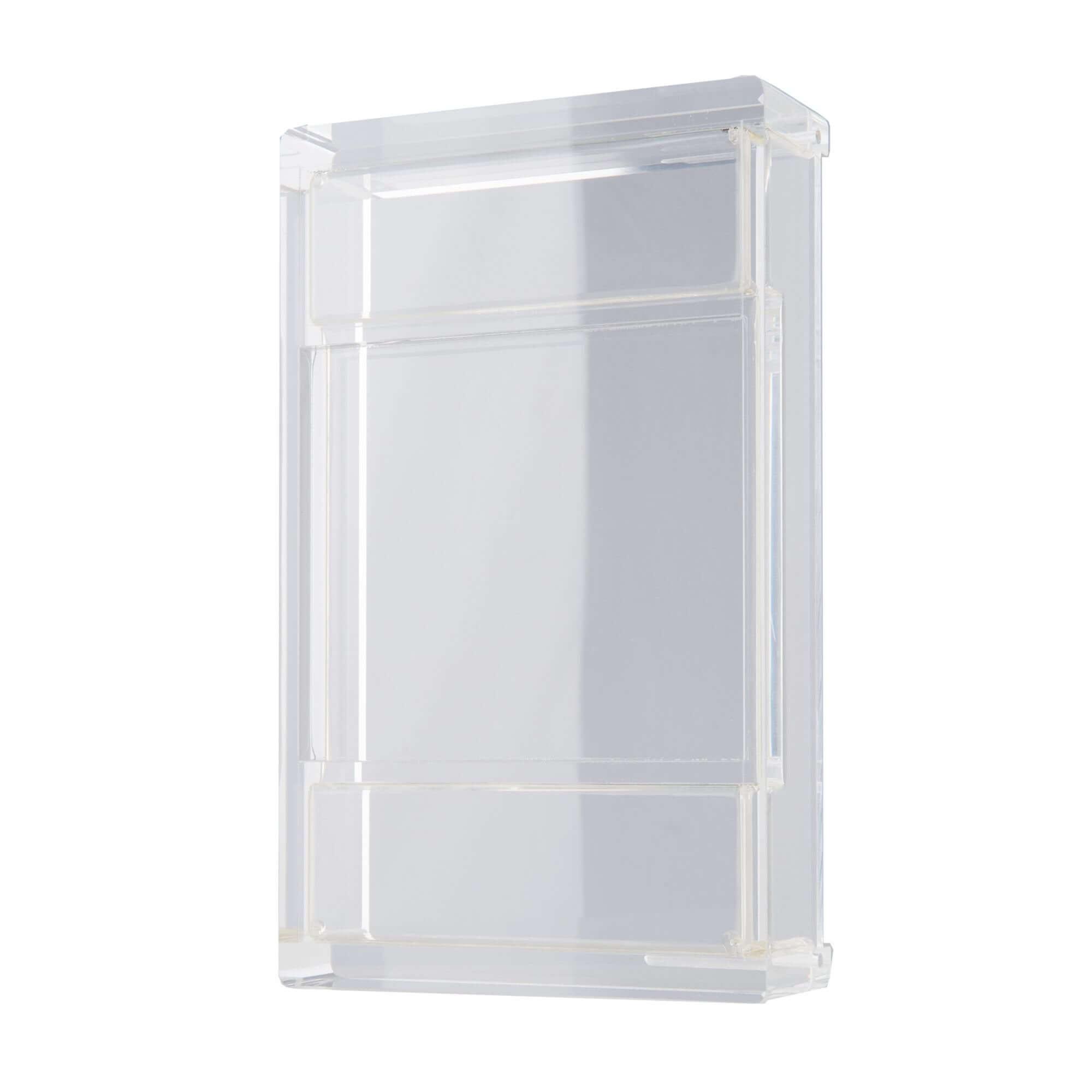 Box aus Acrylglas geklebt poliert