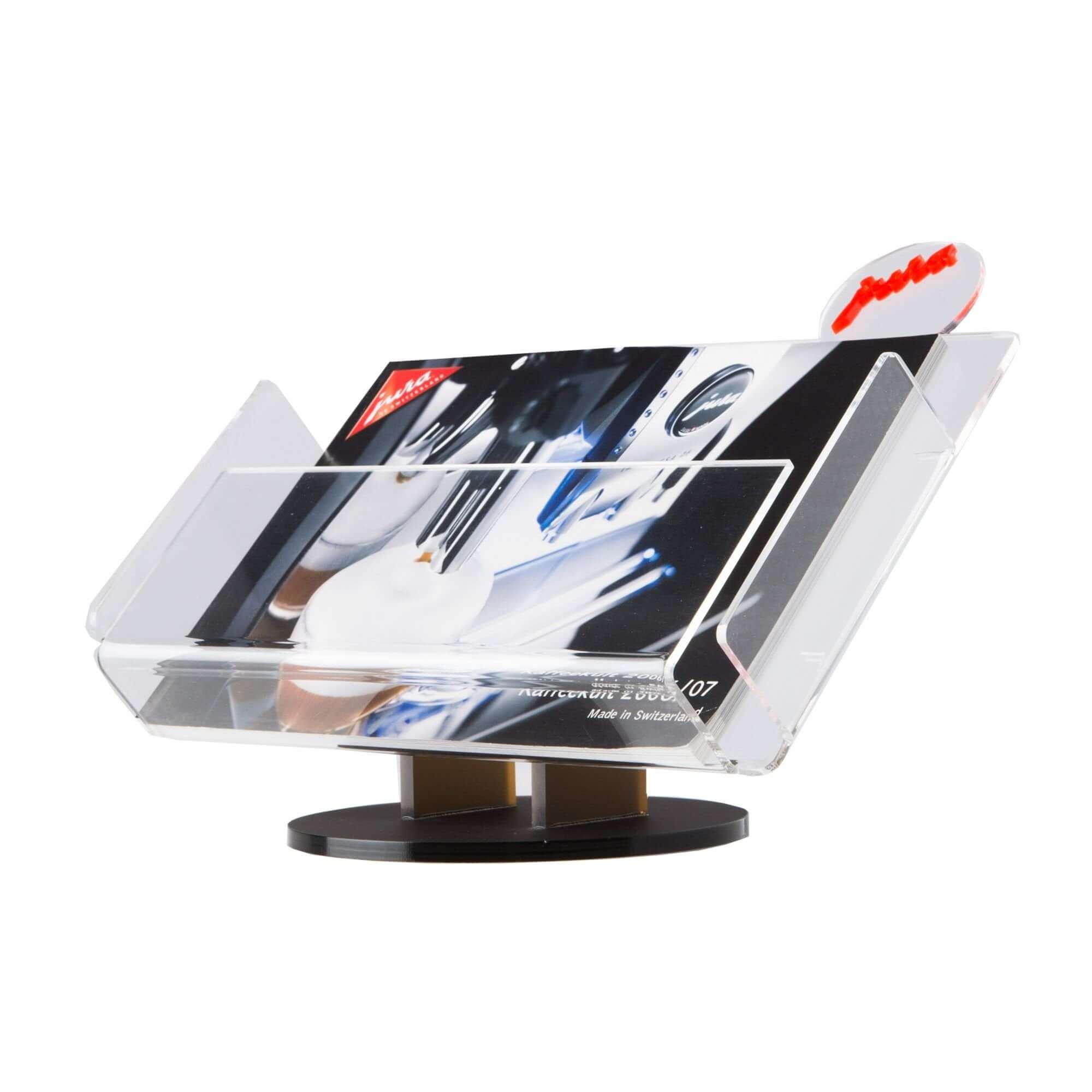 Acryline Prospektständer aus Acrylglas acryl kunststoff prospektehalter prospekthalter broschürenhalter werbehalter prospekte halter display verkaufsförderung aussteller