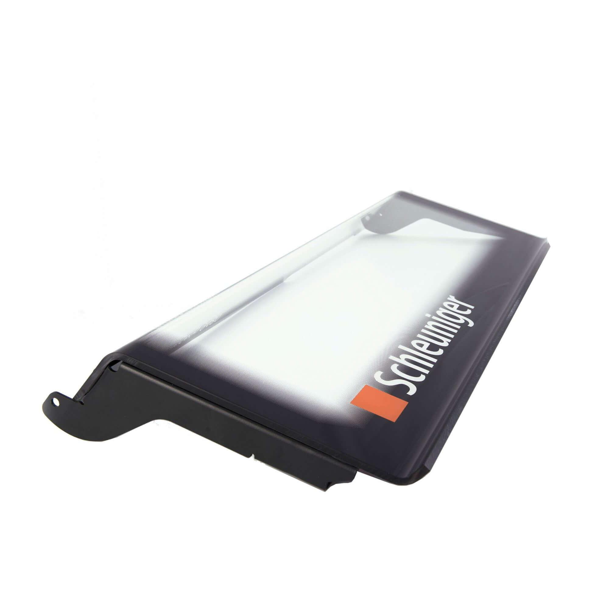 Acryline partielle Maschinenabdeckung aus Acrylglas, Siebdruck (Hintergrund-Raster und Logo) Abdeckung Industrie Schutz Deckel Acryl kunststoff