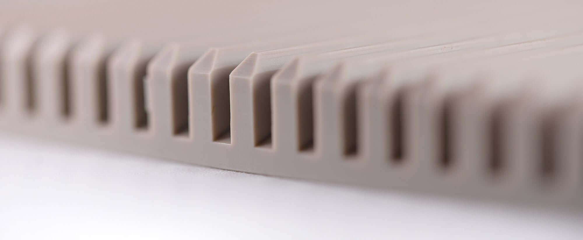 Acryline Frästeil aus PEEK technische teile frästeil zubehör gefräst kunststoff produktion PEEK technisches