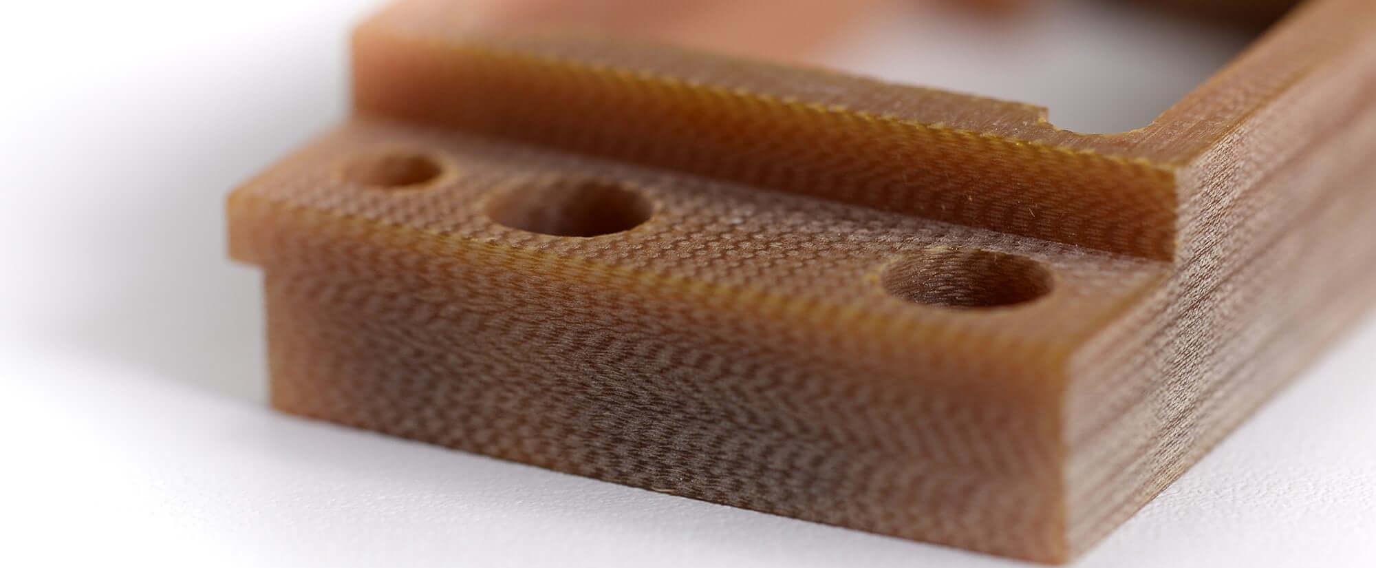 Acryline Frästeil aus GFK technische teile frästeil zubehör gefräst kunststoff produktion