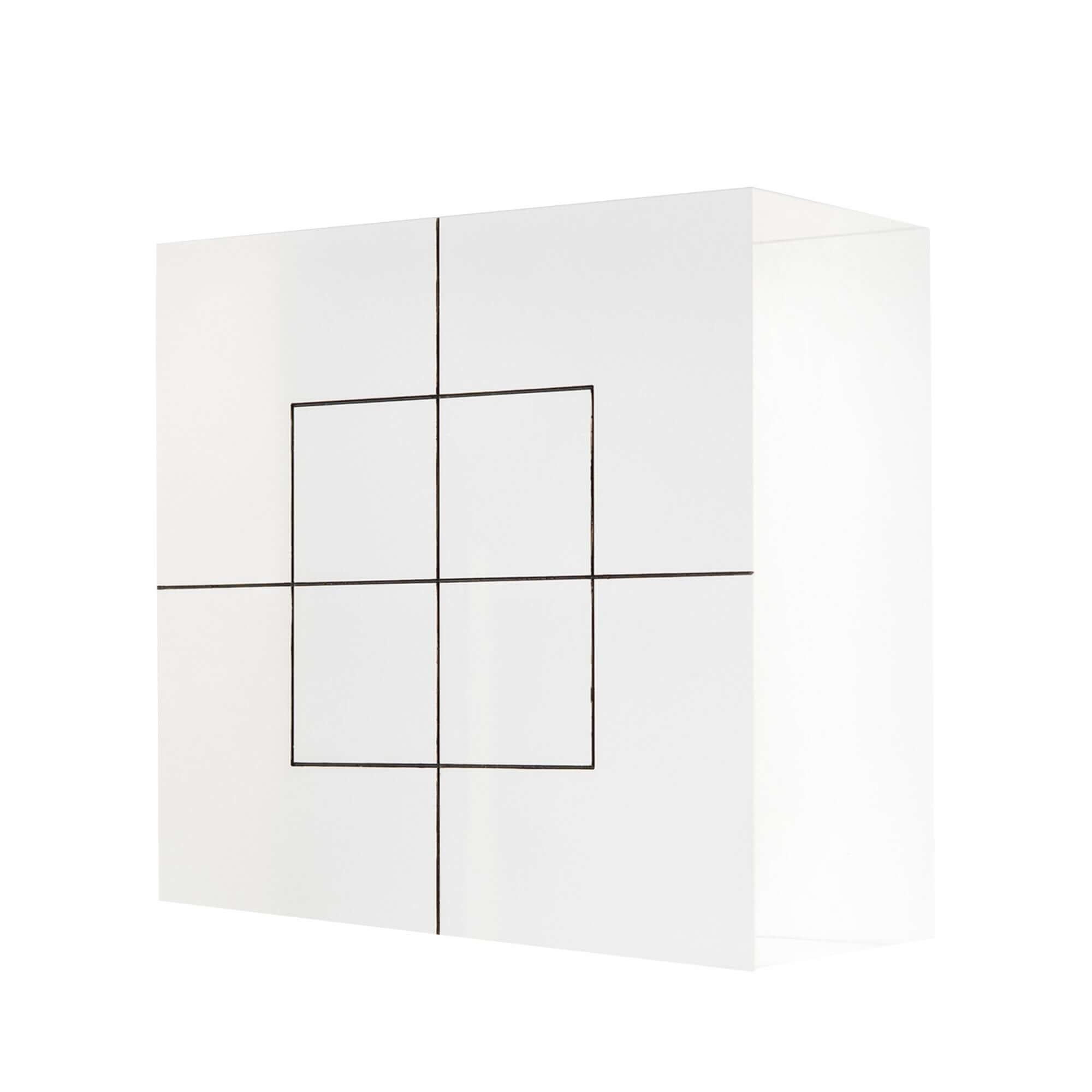 Acryline Elements de comptoir en verre acrylique, illuminé en verre acrylique imprimé