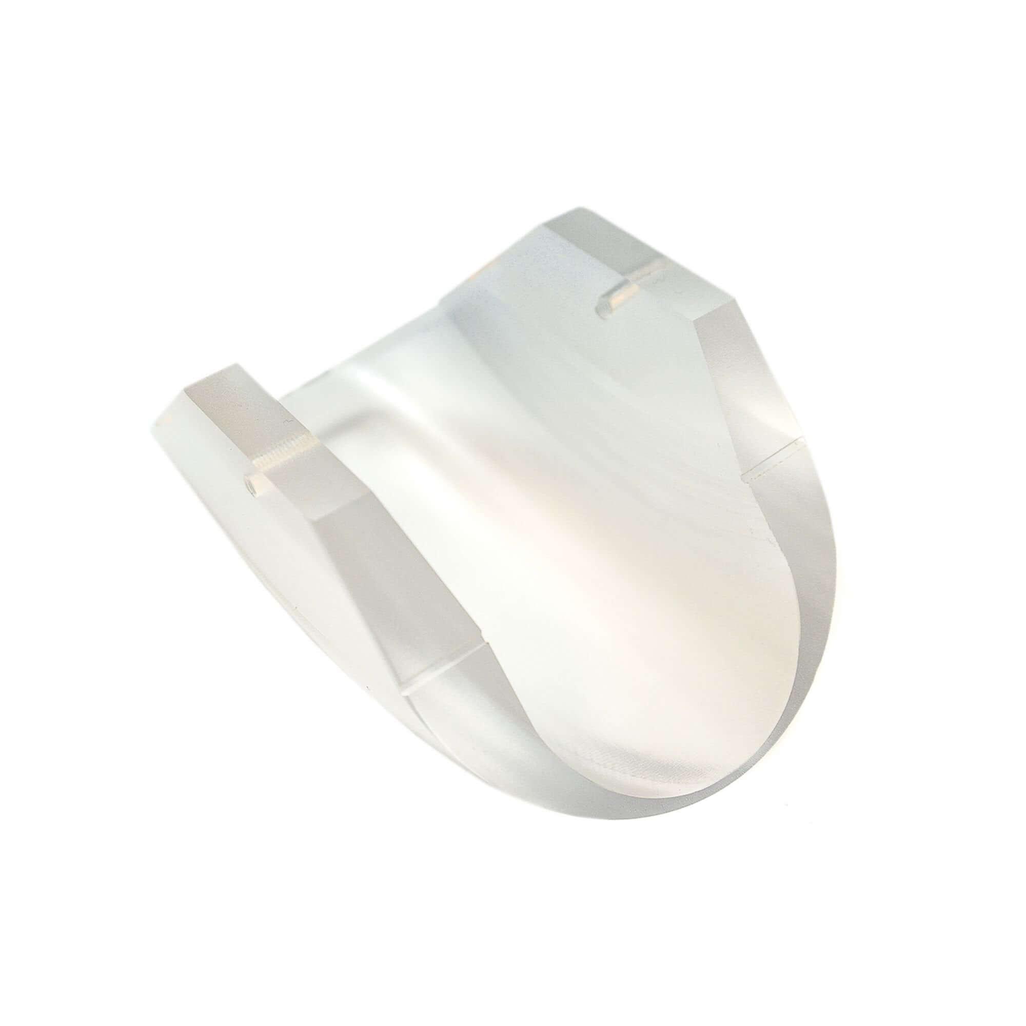 Acryline Diffuseur en verre acrylique pièces technique plastique acrylic composants pour l?eclairage fraisé dessablé