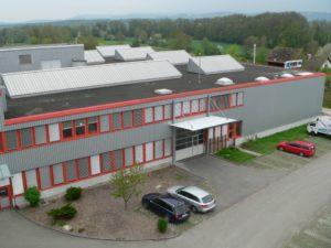 Gebäude Acryline in Oberglatt