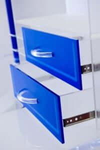 Acryline Büro-Möbel aus Acrylglas sitzungs-tisch tisch möbel möblierung tische acryl kunststoff spezialanfertigung stuhl stühle korpuss büro office home-office