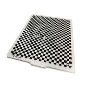 Acryline gefräste Diffusor-Platte mit Siebdruck platte technisches zubehör acryl kunststoff bedruckt gefräst frästeil