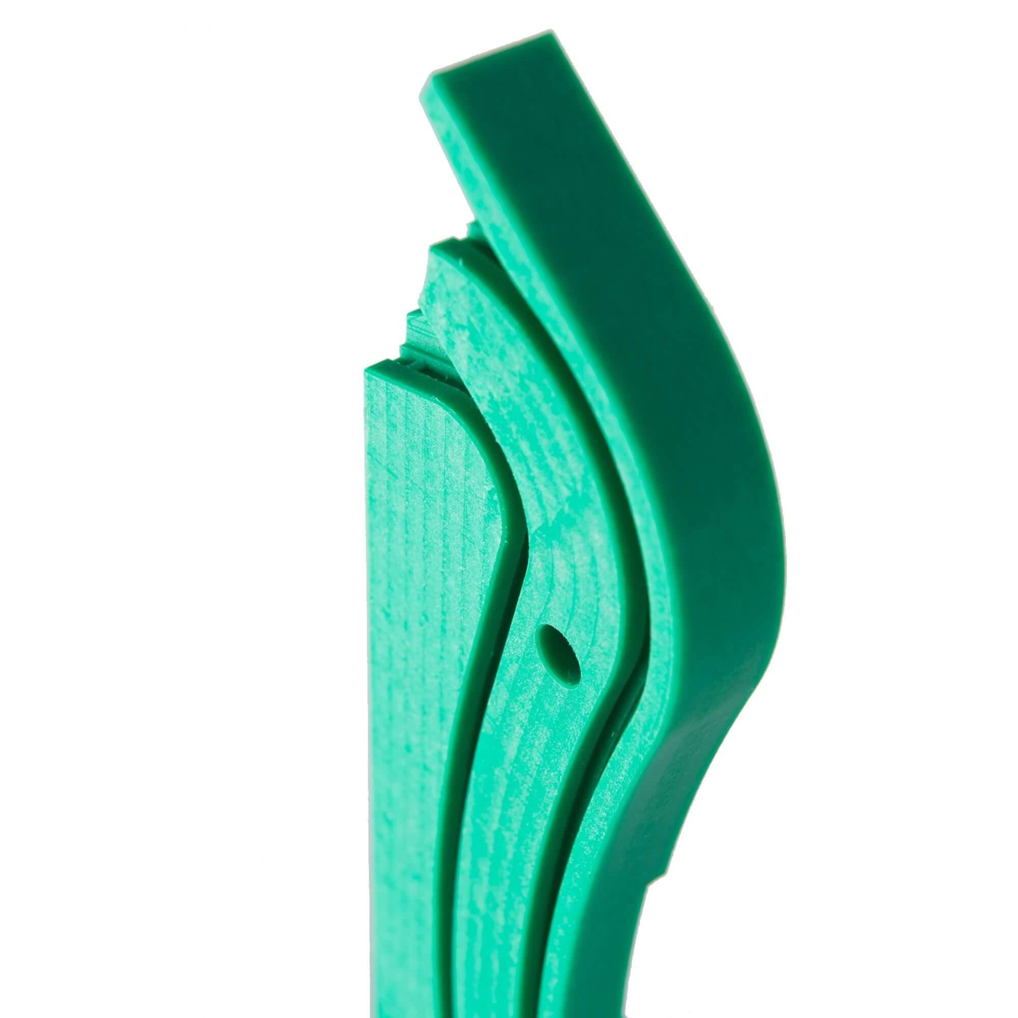 Acryline Kettenführung aus PE technische teile frästeil zubehör gefräst gebohrt PE kunststoff produktion
