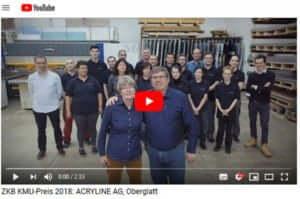 Acryline KMU-Preis 2018 Video