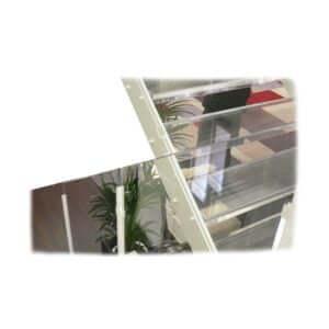 Treppe aus Acrylglas für Messestand