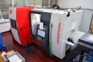 Drehcenter Emco Kunststoff Kunststoffteile Produktion Bearbeitung