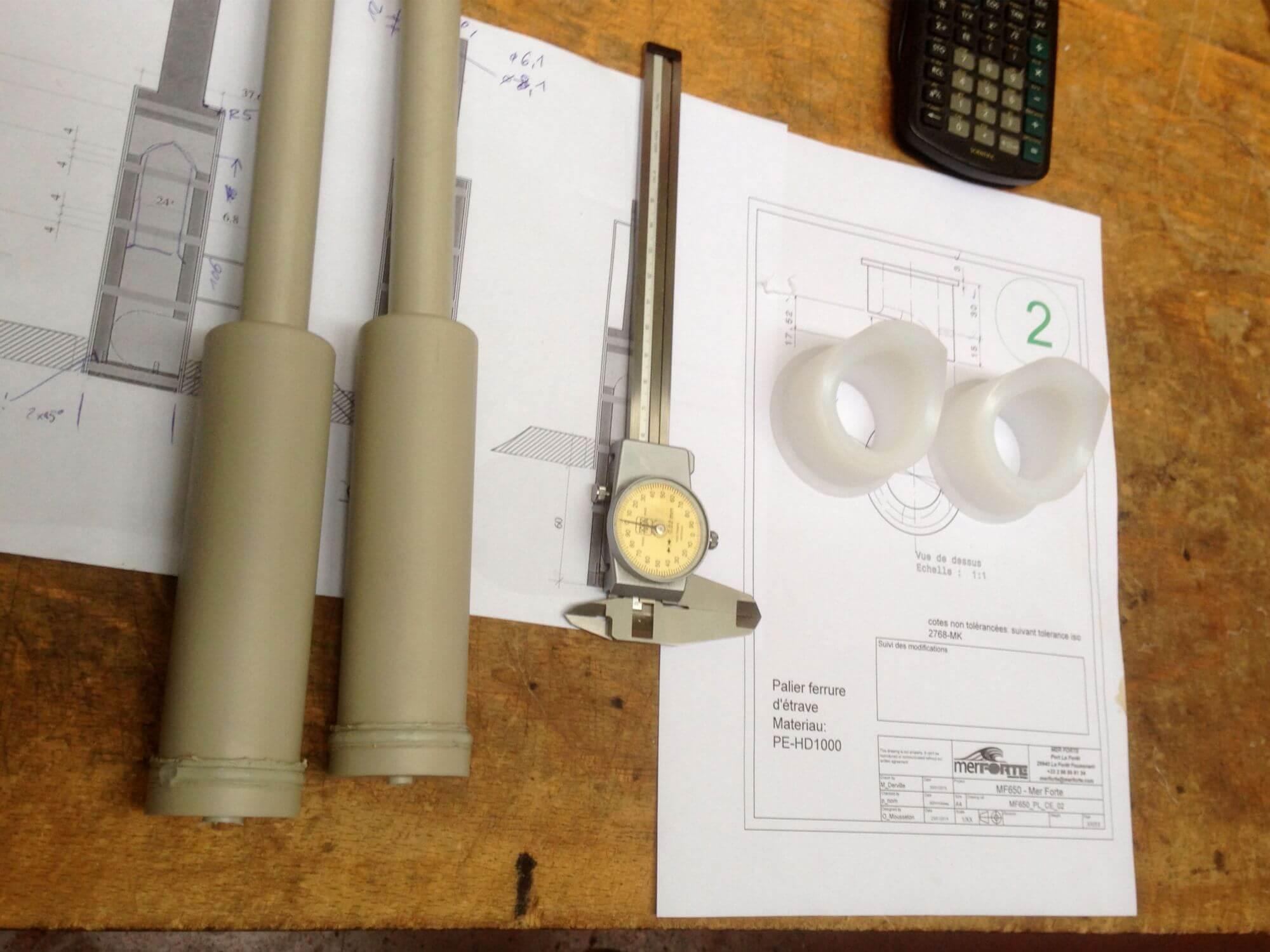Roesti Sailing Team Alantiküberquerung Acryline Kunststoffteile für Segelboot